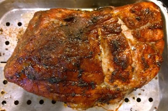 pink pig roast